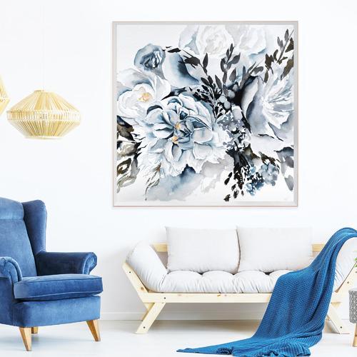 Iconiko Alexandria Framed Printed Wall Art