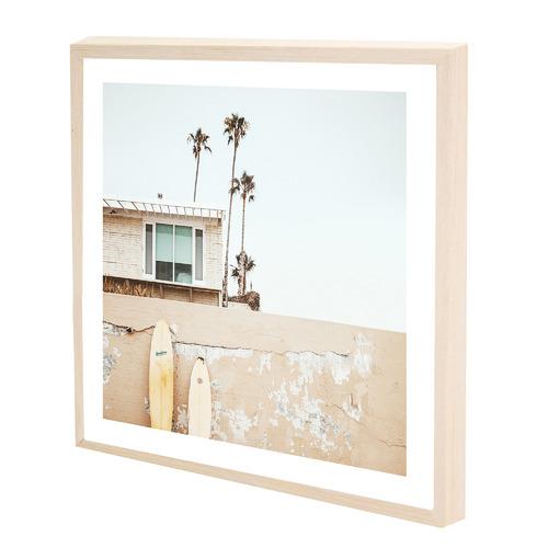 Iconiko Julian House Framed Printed Wall Art