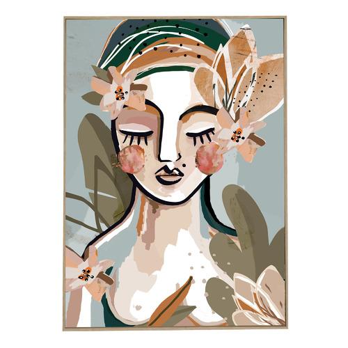 Felicia Boxed Canvas Wall Art