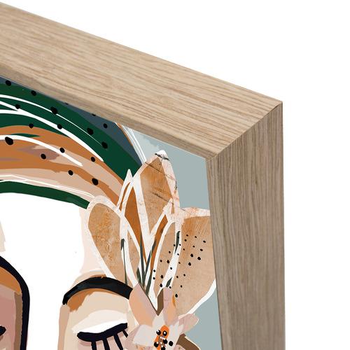 Iconiko Felicia Framed Canvas Wall Art