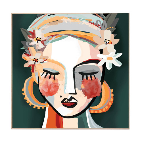 Lotti Boxed Canvas Wall Art