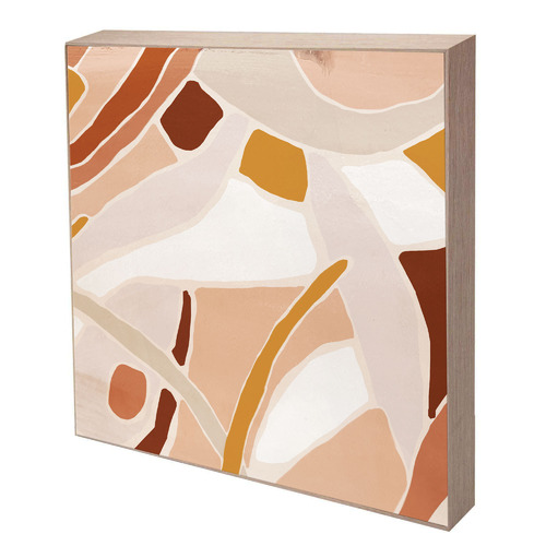 Iconiko Optus Abstract Framed Canvas Wall Art