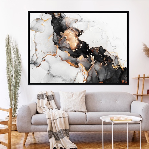 Iconiko Caviar Framed Printed Wall Art