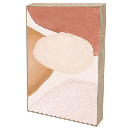 Iconiko Curvature II Framed Canvas Wall Art