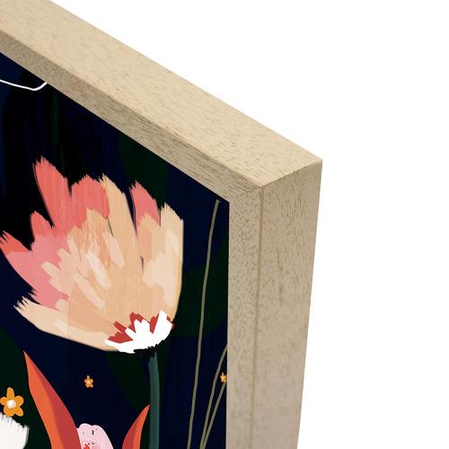 Iconiko Bluebell Jasmine Framed Acrylic Wall Art