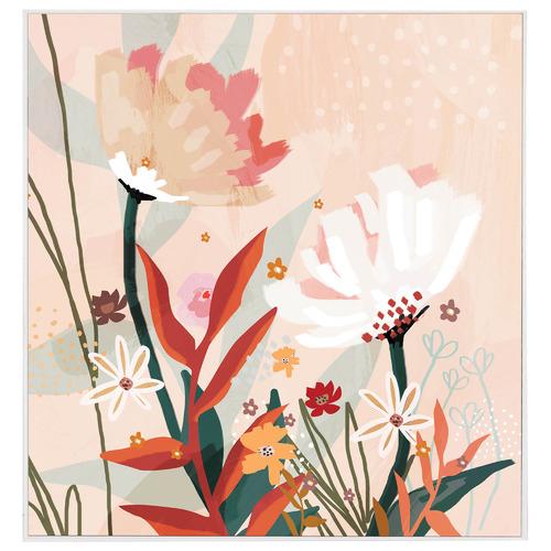 Iconiko Terra Jasmine Framed Canvas Wall Art