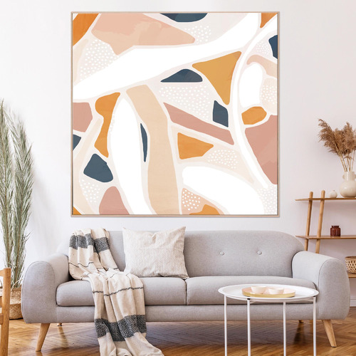 Iconiko Songful Framed Canvas Wall Art