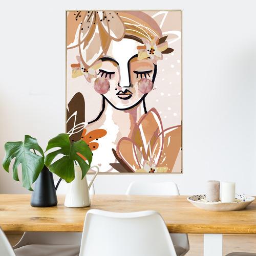 Iconiko Mushu Framed Canvas Wall Art