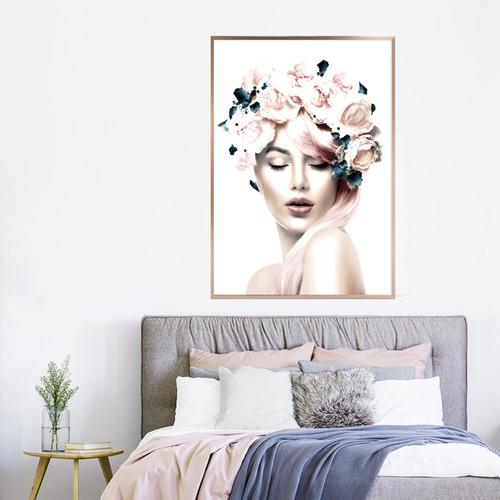 Miss Rose Framed Print