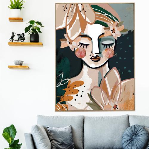 Aromanda Framed Canvas Wall Art