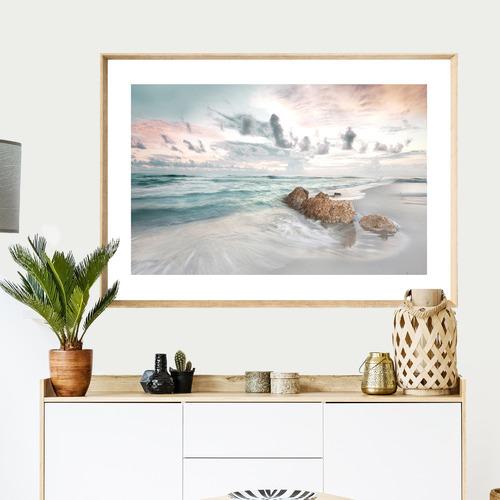 Calm Shores Framed Printed Wall Art