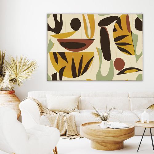 Lemongrass Canvas Wall Art