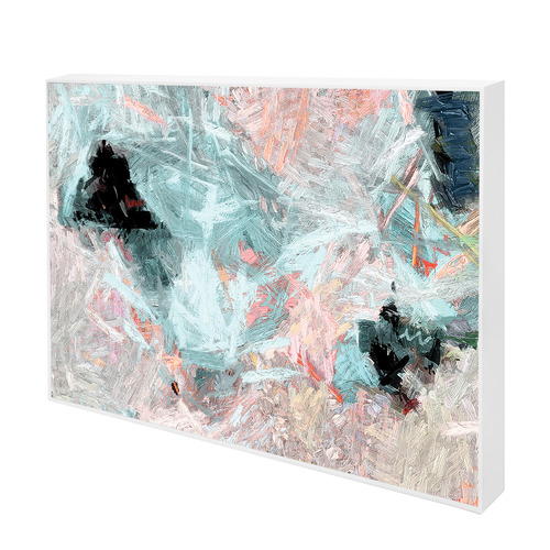 Pacific Crystal Canvas Wall Art