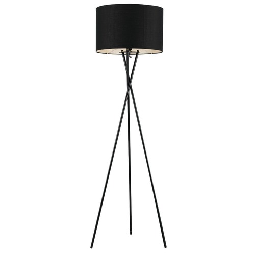 Telbix Black Denise Cross Legged Floor Lamp
