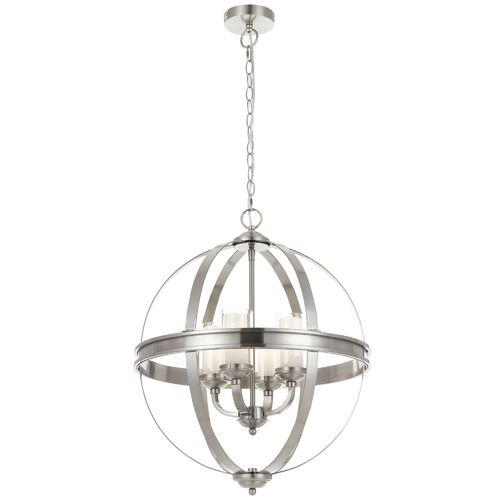 Spectra Lighting Bodum 4 Light Metal Pendant