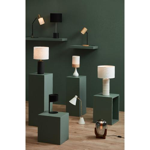 Spectra Lighting Oak Band Nalada Ceramic Table Lamp