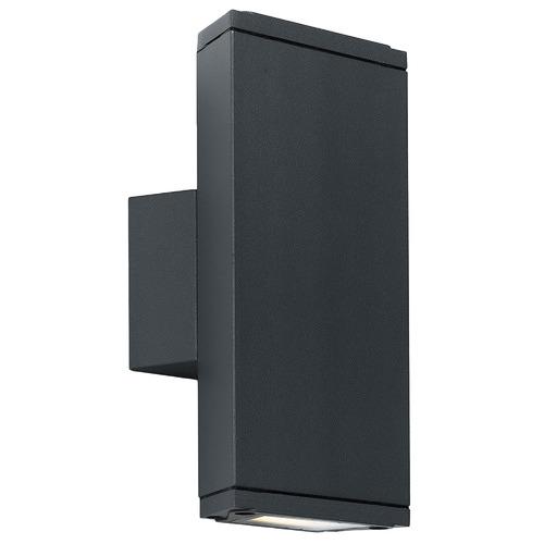 Telbix Black Charo Outdoor Wall Light