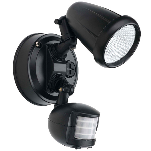 Telbix Illume Metal Outdoor Spotlight with Sensor
