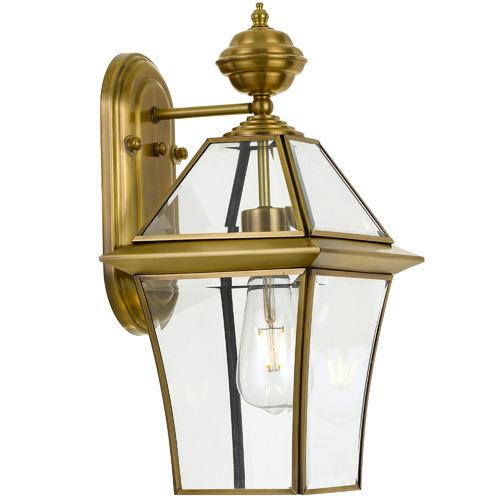 Spectra Lighting Victor Brass Wall Light