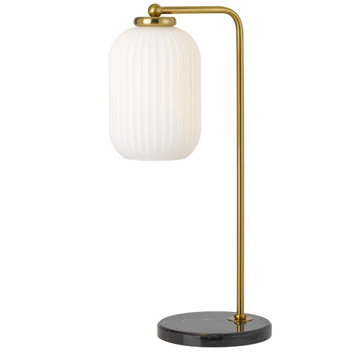 Spectra Lighting Ul Marble & Glass Table Lamp