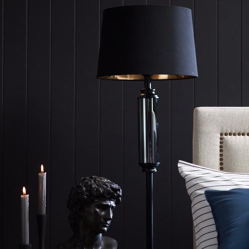 Spectra Lighting Dorcel Iron & Glass Floor Lamp