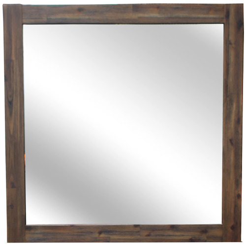 Hawthorne Home Elizabeth Acacia Wood Dressing Table Mirror