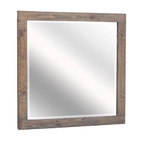 Wareen Pine Wood Mirror