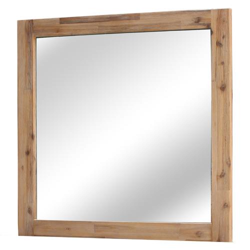 Caspian Acacia Wood Wall Mirror