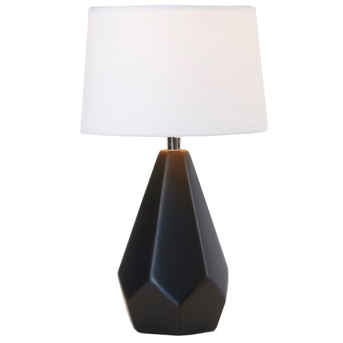 Watt & Bulb Ora Black Base Table Lamp