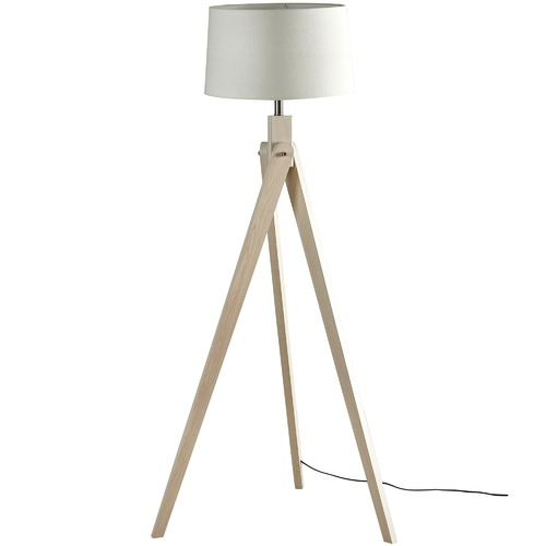 Watt & Bulb Natural Inigo Floor Lamp