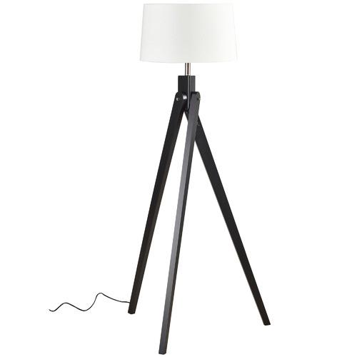 Watt & Bulb Black Inigo Floor Lamp