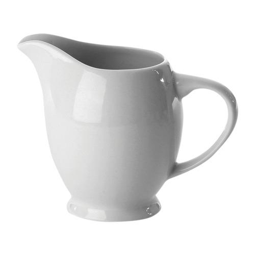 Nova White Porcelain Creamer