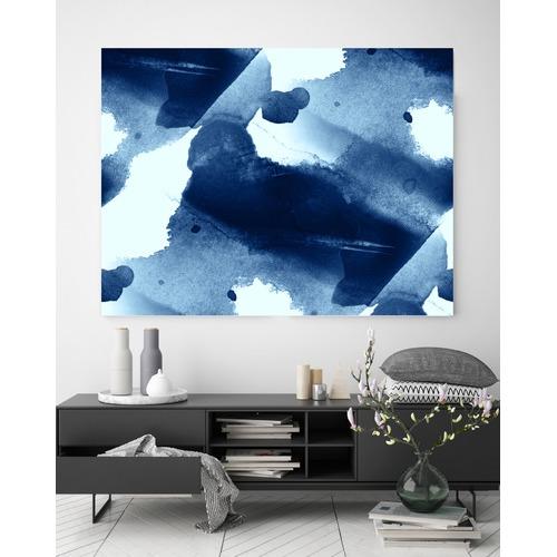 Beach Lane Navy Blues 2 Printed Wall Art