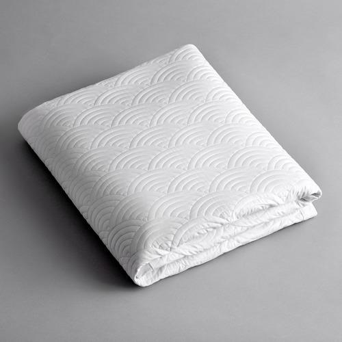 Madreperla Seigaiha Linen Cot Quilt