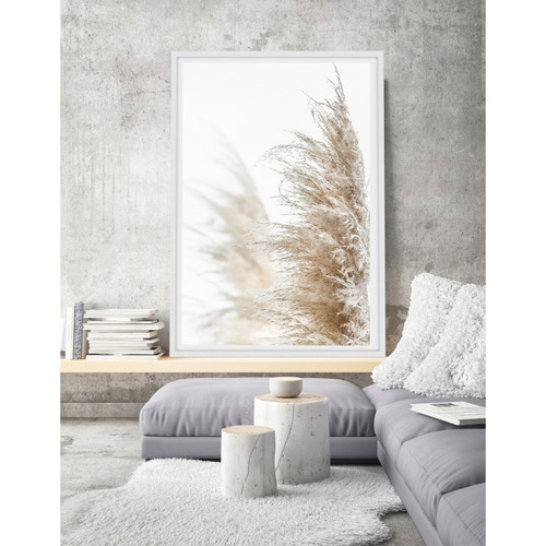Love Your Space Pampas Grass Printed Wall Art