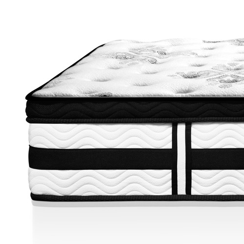 Dwell Home Slumber Euro Top Foam & Coil Deep Mattress