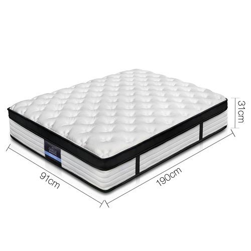 Dwell Home Comfort Euro Top Foam & Coil Mattress