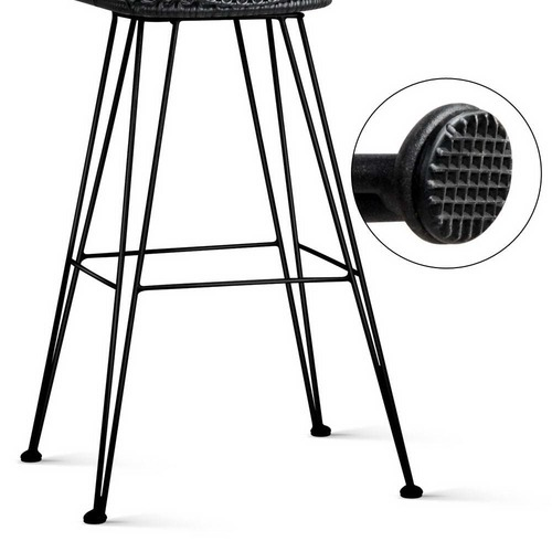 Dwell Home Downhill Faux Wicker Barstool