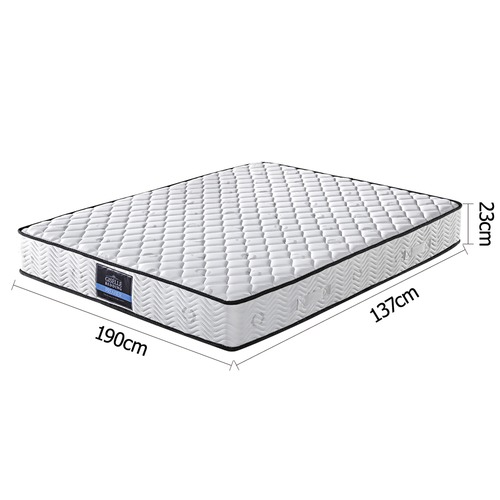 Dwell Home Pocket Spring High Density Foam Mattress Double