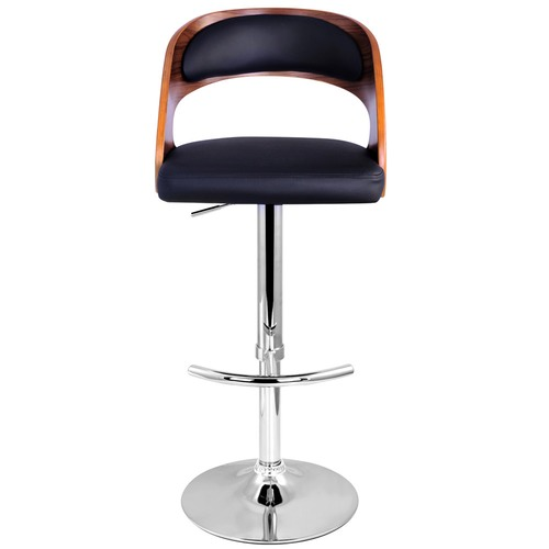 Dwell Home Scott Bentwood & Faux Leather Barstools