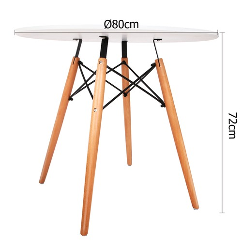 Dwell Home Eames Replica Eiffel Modern Dining Table