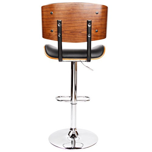 Dwell Home Melbourne Faux Leather & Wood Bistro Barstool