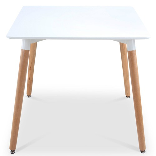 Dwell Home White Eames Replica DSW Cafe Dining Table