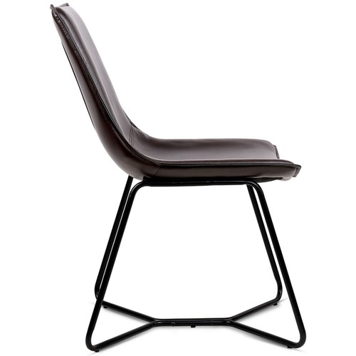 Dwell Home Hoffman Faux Leather Dining Chairs