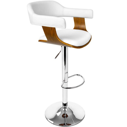 Dwell Home Adjustable Channing Faux Leather Barstool