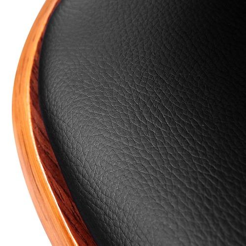 Dwell Home Suukyi Modern Faux Leather Hug Barstool