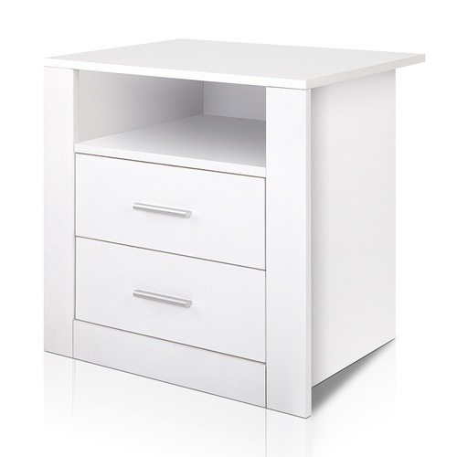 Dwellhome 2 Drawer Dale Bedside Table Amp Reviews Temple