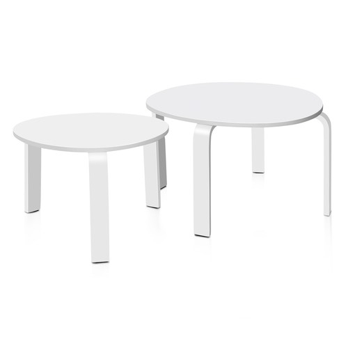 White nesting tables temple webster dwell home white nesting tables watchthetrailerfo