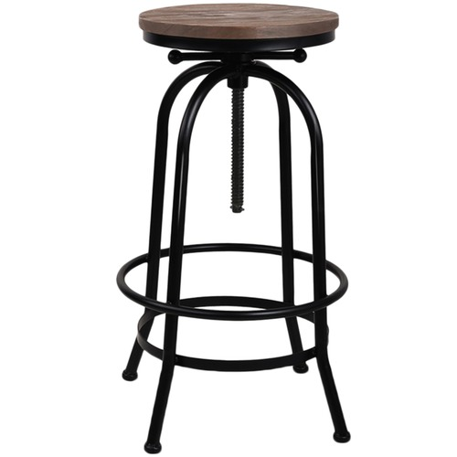 Dwellhome Zoe Adjustable Industrial Barstool Reviews Temple Webster