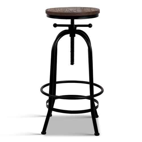 Dwell Home Zoe Adjustable Industrial Barstool